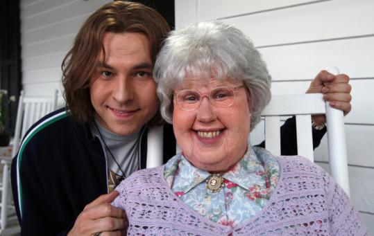 David Walliams (left) and Matt Lucas in ''Little Britain USA.''