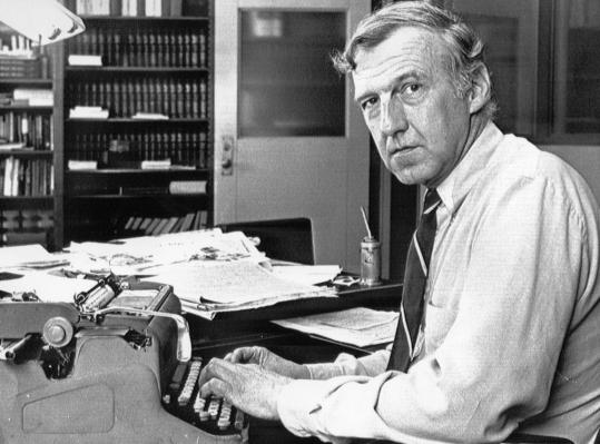 Roger B. Linscott wrote thousands of editorials over three decades at the Berkshire Eagle, winning a Pulitzer Prize for his commentary on President Nixon and the Vietnam War.