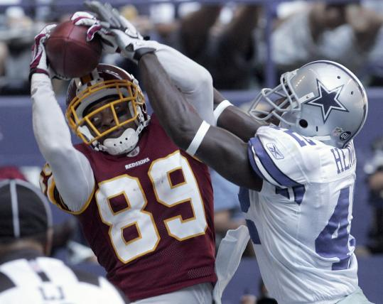 The NFC East is up for grabs now after Santana Moss (145 yards receiving) and the Redskins pulled out a win over the Cowboys.