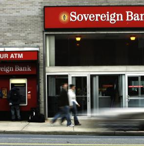 Sovereign Bancorp said it wasn't aware of anything specific that would explain its shares' dramatic slide.