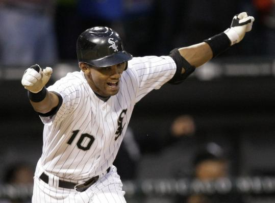 Rookie Alexei Ramirez, ''The Cuban Missile,'' launched a tiebreaking grand slam in the sixth.