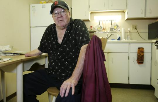 ''My money isn't going as far as it used to at the grocery store,'' says Stephen Sanick, a 69-year-old disabled retiree who lives in Lowell.