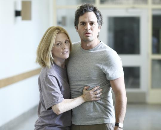 Julianne Moore (with Mark Ruffalo) pretends to lose her sight to help save society from a mysterious epidemic.