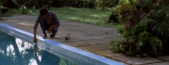 Venkatesh Chavan plays an Indian janitor obsessed with a rich man's pool.
