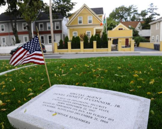 A park dedicated to the memory of Dorchester native Daniel Emmett O'Connor has been recently constructed.