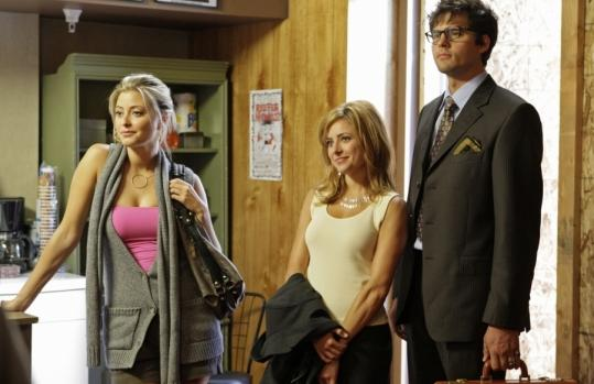 From left: Holly Valance, Christine Lakin, and Kristoffer Polaha in a scene from the new CW series ''Valentine.''