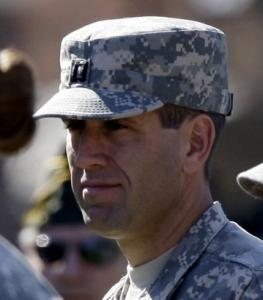 Beau Biden and his unit took part in the deployment ceremony in Dover, Del. The unit is headed to Iraq.