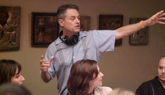 Jonathan Demme (on the set of ''Rachel Getting Married'') shot his latest movie with hand-held cameras using only available light and sound.