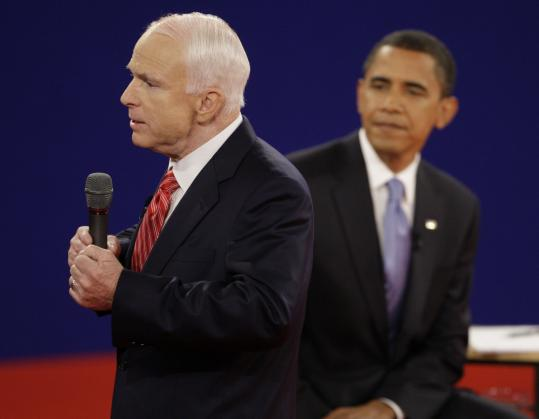 John McCain wants the government to buy up to $300 billion worth of consumer mortgages.