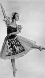 Denis de Marneyvia the Royal Ballet/FileNadia Nerina danced in ''Coppelia'' in the mid-1950s. She was born as Nadine Judd in Bloemfontein, in central South Africa.