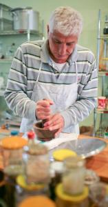 Ahmad Yasin holds classes in the art of Syrian cooking at Yasin Culinary.