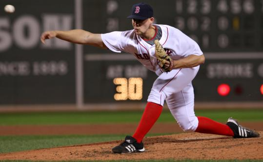 Justin Masterson was part of a bullpen quartet that allowed eight runs in 6 1/3 innings of work.