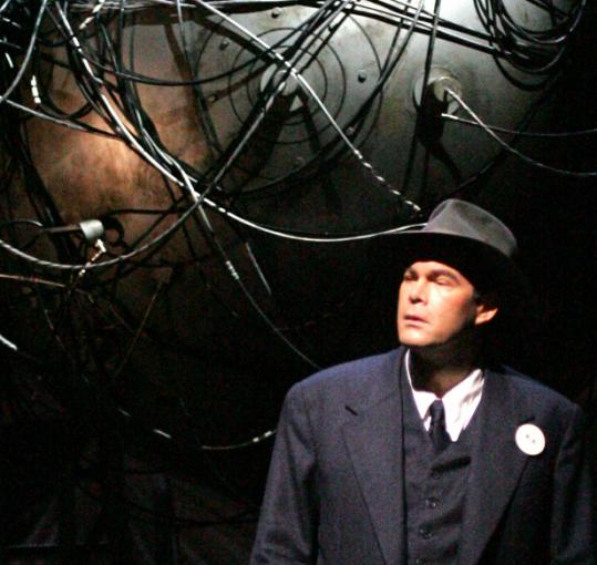 Canadian baritone Gerald Finley as Robert Oppenheimer in ''Doctor Atomic.''