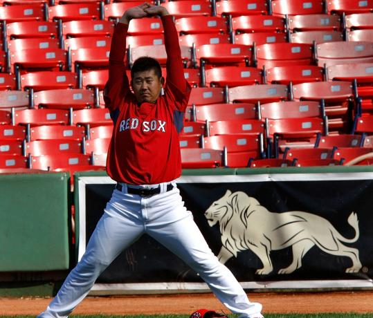 Hoping to duplicate last week's outing, Daisuke Matsuzaka will try to stretch the ALCS to Game 6.