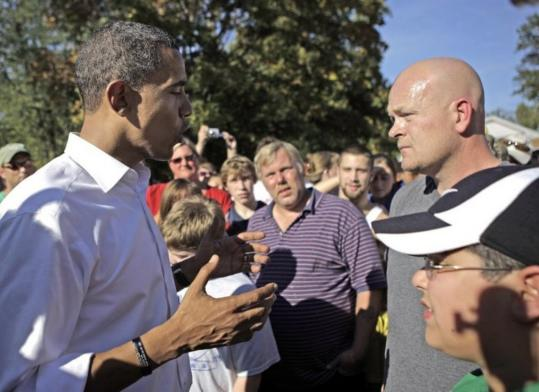 Senator Barack Obama of Illinois answered questions posed by plumber Joe Wurzelbacher Sunday in Holland, Ohio. As last night's debate wore on, Joe's name kept coming up.