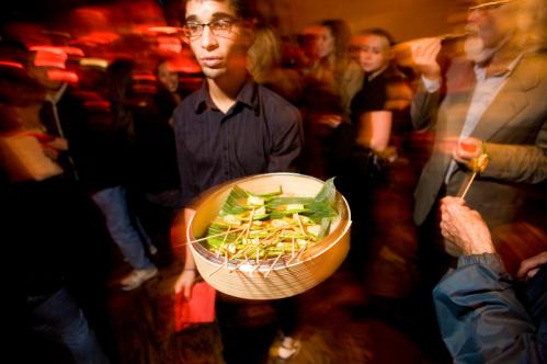 Hey, Mr. Popular: Kale Parker passed around the free dim sum. More info on Pho Republique SUBMIT Your nightlife photos! TALK What scene should we visit next?