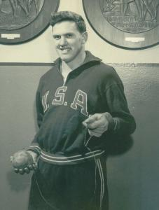 Albert W. Hall was the national hammer champion in 1962 and 1963 and placed first in Olympic trials in 1956 and 1960.