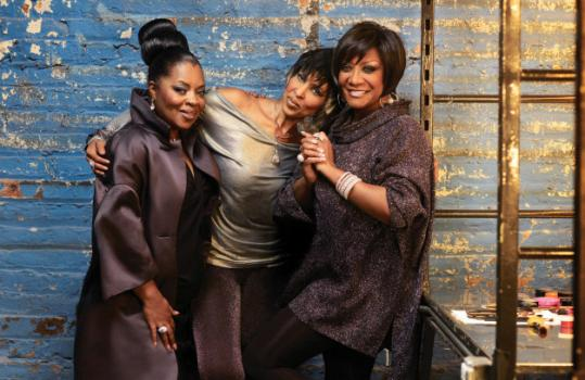 From left: Sarah Dash, Nona Hendryx, and Patti Labelle have made the first Labelle disc in 32 years.