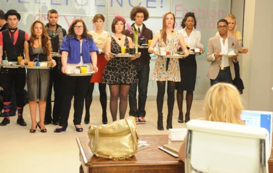 Contestants on The CW's ''Stylista'' try to impress magazine fashion news director Anne Slowey.
