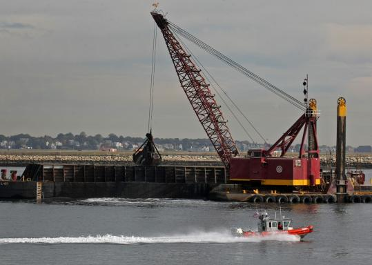 After nearly $100 million spent, the massive dredging project in Boston Harbor is nearly done.