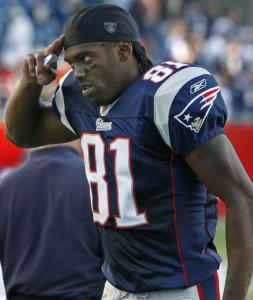You have to salute Randy Moss, who became the 20th NFL player with 800-plus catches.
