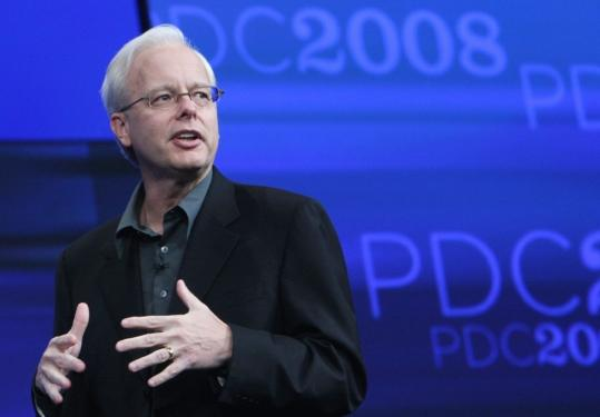 Windows Azure, the basis for Microsoft's venture into cloud computing, is the brainchild of Ray Ozzie.