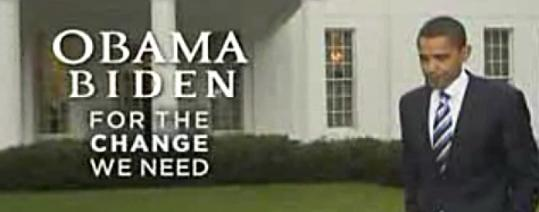 Barack Obama's ''Better Off'' ad focuses on the economy, but ends with Obama walking across the White House lawn.