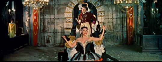 Martine Carol and Peter Ustinov star in a new, 115-minute cut of Max Ophuls's 1955 masterpiece, ''Lola Montès.''