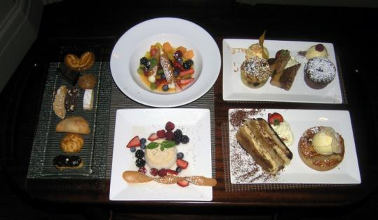 Davio's offers a selection of homemade desserts.