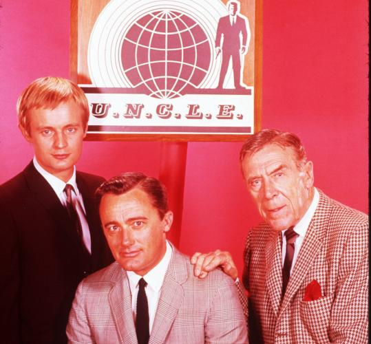 From left: David McCallum, Robert Vaughn, and Leo G. Carroll starred in ''The Man From U.N.C.L.E.''