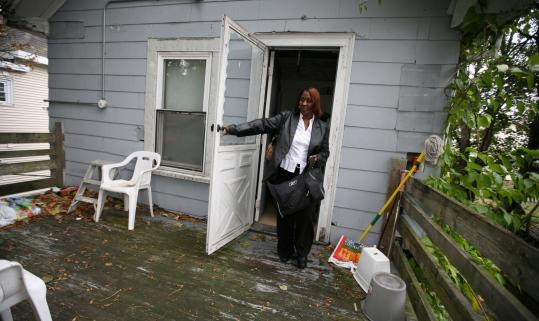 Joyce Hodge's mortgage payment rose to $3,200 a month last year when the adjustable rate on her subprime loan increased.