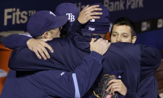 The Rays commiserated after losing the World Series, but their future seems bright.