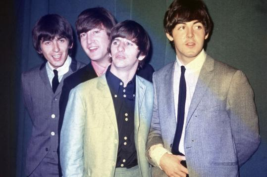 George, John, Ringo, and Paul reach a Rock Band generation.