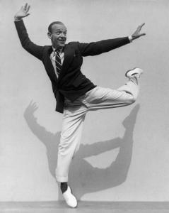 ''Fred Astaire on His Toes,'' a 1936 photograph by Martin Munkácsi.