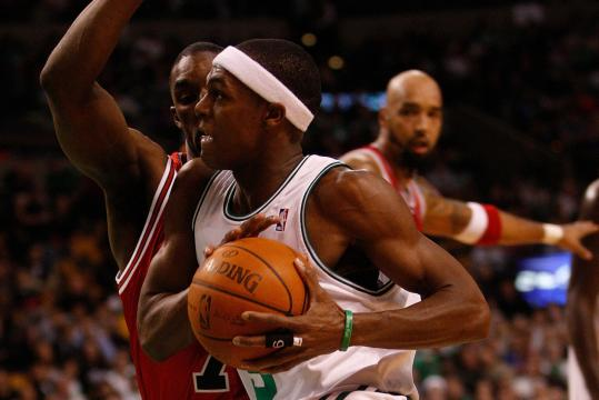 Rajon Rondo is in the driver's seat because coach Doc Rivers wants him to spend his career as a Celtic.