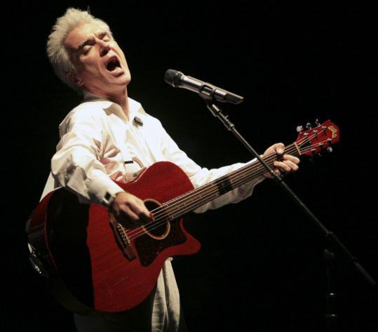 David Byrne Talking Heads Burning Down The House