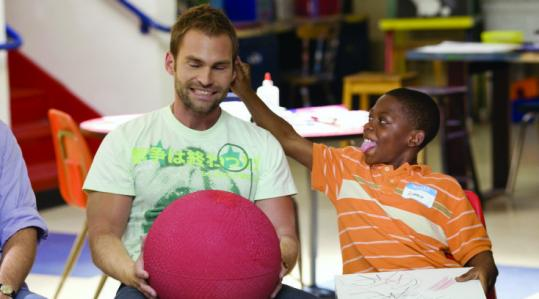 Seann William Scott's Wheeler (left) mentors Bobb'e J. Thompson's Ronnie in this scruffy buddy comedy.