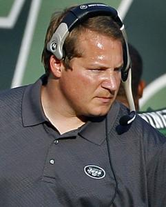 Jets coach Eric Mangini is proving he can scowl with the best of them - even his Giants counterpart, Tom Coughlin.