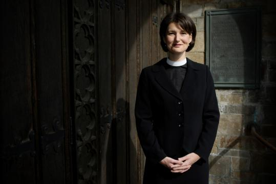 The Rev. Tiffany Steinwert heads Cambridge Welcoming Ministries, for six years a mission of the United Methodist Church.
