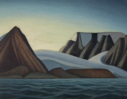 ''BYLOT ISLAND'' (CIRCA 1930) BY LAWREN S. HARRIS