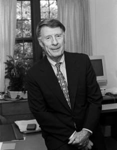 Edmund M. Burke was dean of BC's Graduate School of Social Work and served on President Carter's domestic policy staff.
