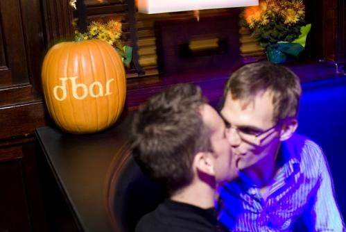 Sealed with a kiss: Two partygoers got close at dbar. More info on dbar SUBMIT Your nightlife photos! TALK What scene should we visit next?