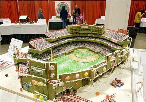 Scenes from the gingerbread house competition - Boston.com