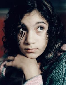Lina Leandersson plays one of two 12-year-old neighbors at the heart of ''Let the Right One In.''