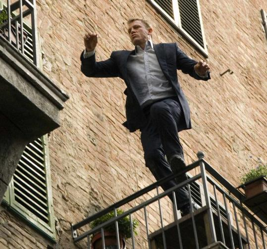 James Bond Returns To Action In Quantum Of Solace The