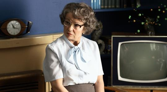 Julie Walters plays Mary Whitehouse, the woman who took on the BBC in the 1960s, in ''Filth.''