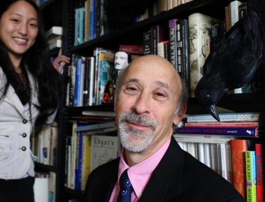 BC professor Paul Lewis and Katherine Kim, a graduate student, want Boston to better memorialize its connection with Poe.
