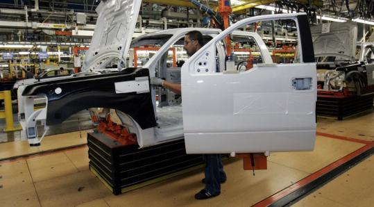 A Senate auto bailout bill noted that 355,000 US workers are directly employed by the auto industry.