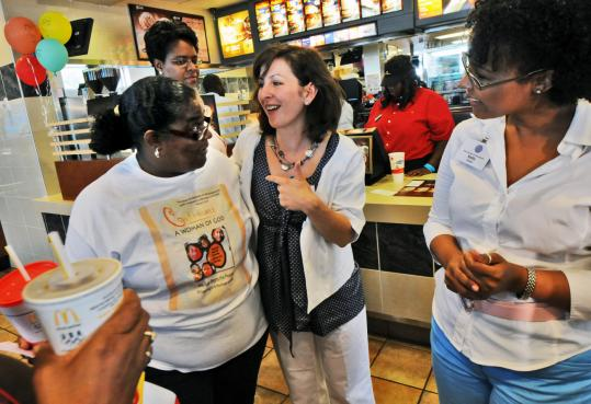 McDonald's has started a public relations effort called the Quality Correspondents program to enlist mothers to go behind the scenes at its restaurants and talk about what they see.