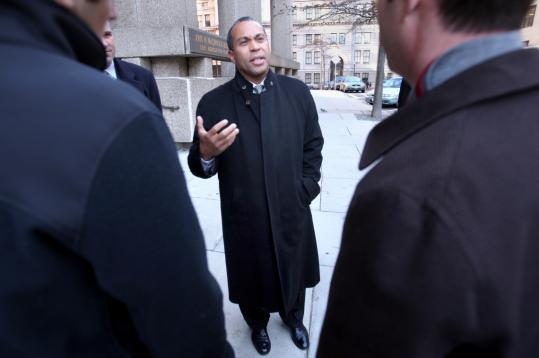 Governor Deval Patrick called an increase in Massachusetts Turnpike tolls unavoidable.